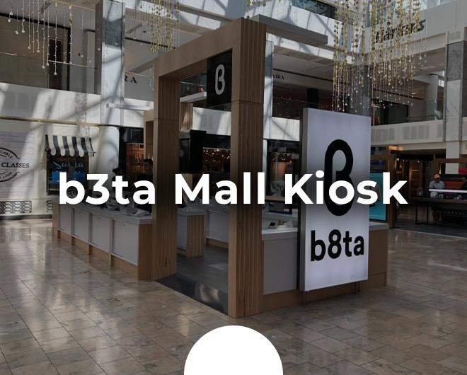 b8ta Mall Kiosk